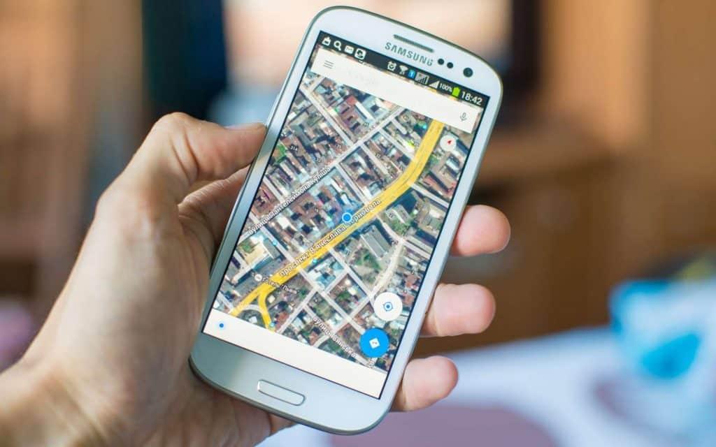Géolocalisation Smartphone